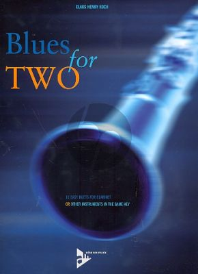Koch Blues for Two 2 Clarinets