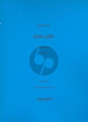 Lim Gyfu (Gift) Oboe solo