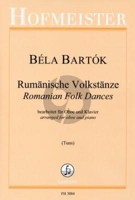 Bartok Rumanian Folk Dances Oboe-Piano (arr. Christian Tuns)