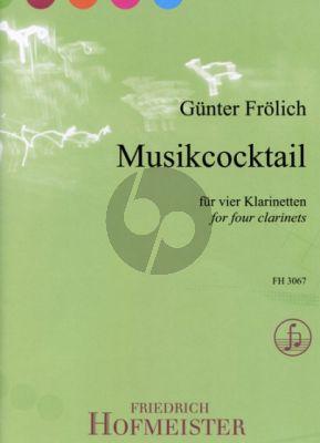 Frohlich Musikcocktail 4 Klarinetten (Bb) (Part./Stimmen)