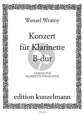 Wratny Concerto B-flat major Clarinet-Orch. (piano red.)