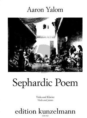 Yalom Sephardic Poem Viola-Piano