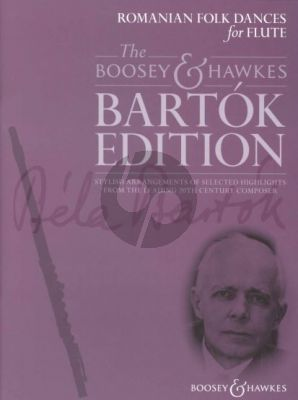 Bartok Romanian Folk Dances for Flute (with Piano) (arr. Hywel Davies)