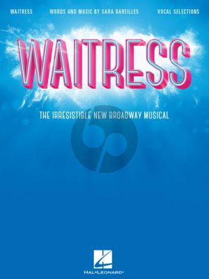 Bareilles Waitress (Broadway Musical) Vocal Selections