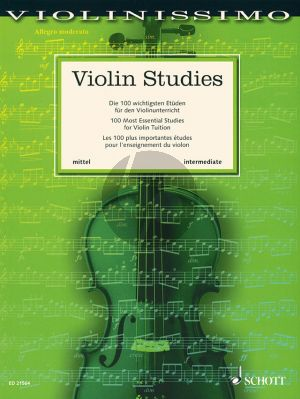 Violin Studies (100 Most Essential Studies for Violin)