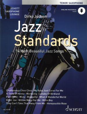 Jazz Standards (14 Most Beautiful Jazz Songs) Tenor Sax.-Piano