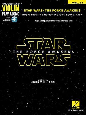 Williams Star Wars: The Force Awakens (Violin Play-Along Series Vol.61)