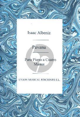 Albeniz Pavana Capricho Piano 4 Hands