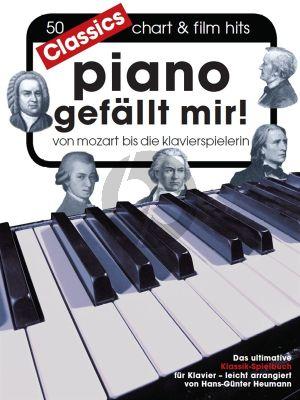 Piano gefällt mir! Classics - Von Mozart bis Die Klavierspielerin)