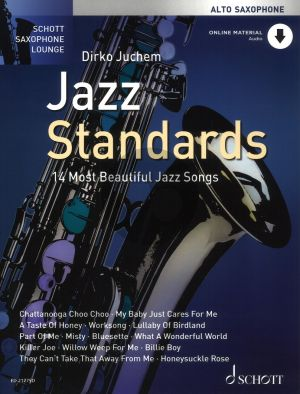 Jazz Standards (14 Most Beautiful Jazz Songs) Alto