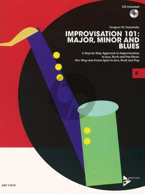 Yasinitsky Improvisation 101: Major, Minor and Blues Eb Instr.