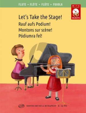 Let's Take the Stage! (Easy Repertoire Pieces for Young Flautists)