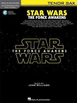 Williams Star Wars: The Force Awakens Instrumental Play-Along Tenor Sax.
