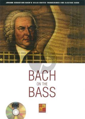 Bach On The Bass (Bass Guitar) (Book-CD)