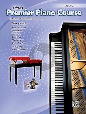 Premier Piano Course Duet 3