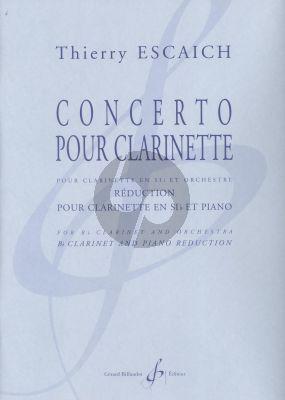Escaich Concerto Clarinet[Bb]-Orchestra (piano red.)