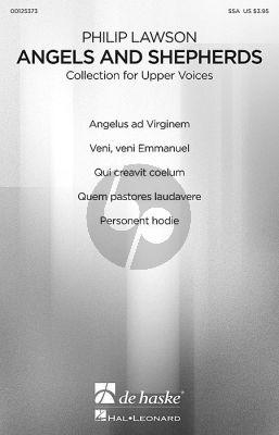 Lawson Angels and Shepherds (Christmas Choral Collection) SA-Piano
