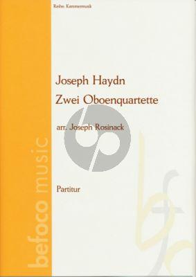 Haydn Zwei Quartette C-Dur und F-Dur (Oboe und Streichtrio)