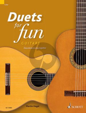 Duets for fun: Guitars (easy pieces to play together) (Hegel)