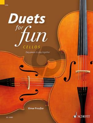 Album Duets for fun: Cellos (Easy pieces to play together - Playing Score) (edited by Elmar Preussner)