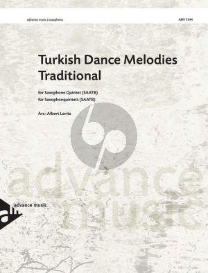 Turkish Dance Melodies (Traditional) 5 Sax. (SAATB) (Loritz)