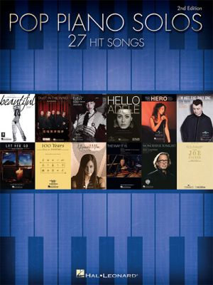 Pop Piano Solos (27 Hits Songs)
