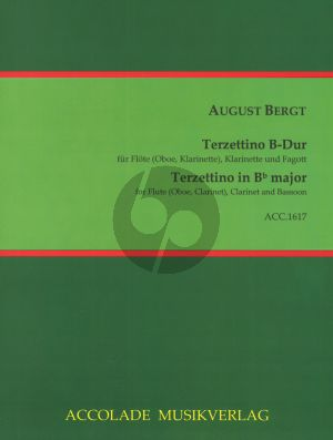 Bergt Terzettino B-flat major Flute[Oboe/Clar.]-Clarinet-Bassoon