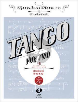Tango for Two Violoncello (Bk-Cd) (Quadro Nuevo-Chris Gall)