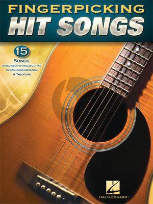Fingerpicking Hit Songs Guitar (incl. tab.)