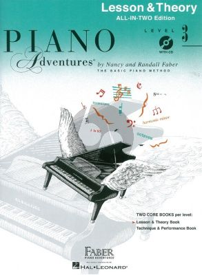 Faber Piano Adventures Lesson & Theory Level 3 (Bk-Cd)