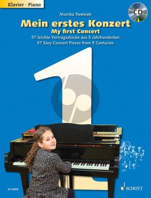 Mein erstes Konzert (My First Concert) (57 Easy Concert Pieces) Vol.1