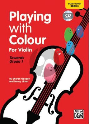 Litten-Goodey Playing With Colour For Violin Book 3