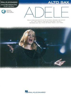 Adele Instrumental Play-Along Alto Sax.
