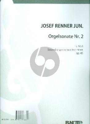 Renner Sonate No.2 c-moll Op.45 Orgel