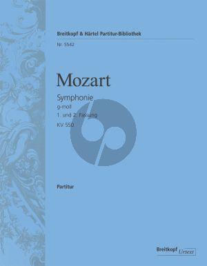 Mozart Symphonie No.40 g-moll KV 550 Orch. Partitur