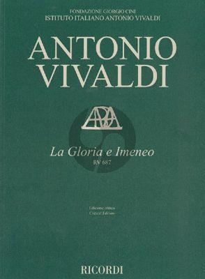 Vivaldi La Gloria e Imeneo RV 687 Orchestra Score