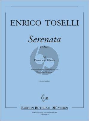 Toselli Serenata D-Dur Violine und Klavier (transcr. Tomislav Butorac)