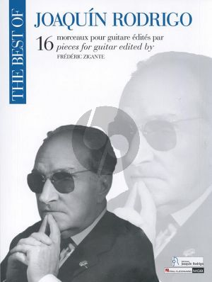 Rodrigo Best of Rodrigo Guitar (edited by Frederic Zigante)
