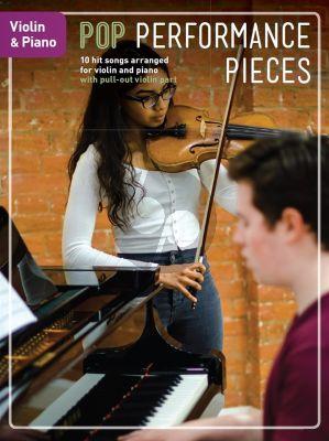 Pop Performance Pieces Violin-Piano