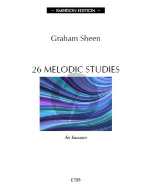 Sheen 26 Melodic Studies for Bassoon