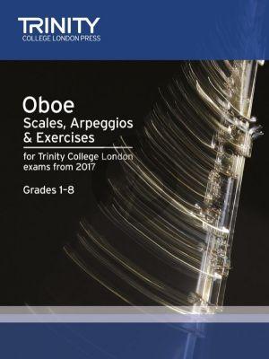 Oboe Scales, Arpeggios & Exercises Grades 1–8