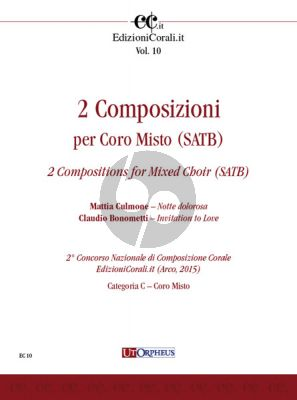 2 Compositions for Mixed Choir (SATB)