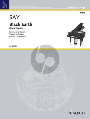 Say Kara Toprak - Black Earth Op.8b 2 Piano's