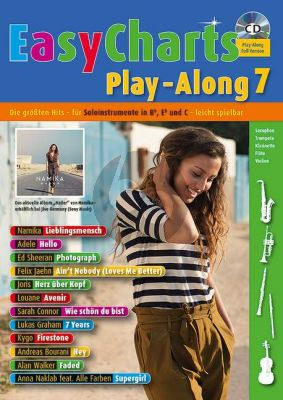 Easy Charts Play-Along Vol.7 (all C.-Bb.-Eb. Instr) (Bk-Cd)