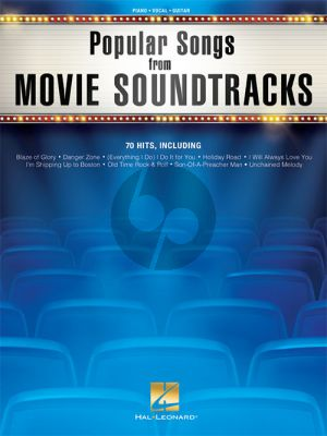 Popular Songs from Movie Soundtracks Piano-Vocal-Guitar