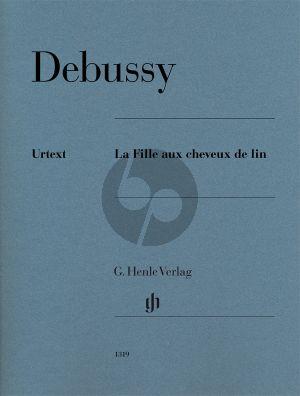 Debussy La Fille aux cheveux de lin Piano