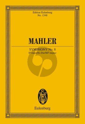 Mahler Symphony No.8 E-flat major Study Score