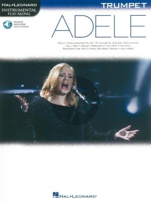 Adele Instrumental Play-Along Trumpet (Book with Audio online)