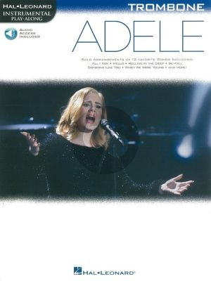 Adele Instrumental Play-Along Trombone (Book with Audio online)