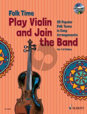 Folk Time - Play Violin and Join the Band! 1-2 Violins Bk-Cd
